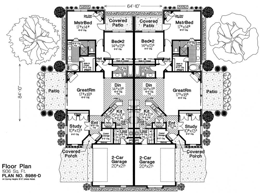 8986d fillmore chambers design group for Fillmore design floor plans